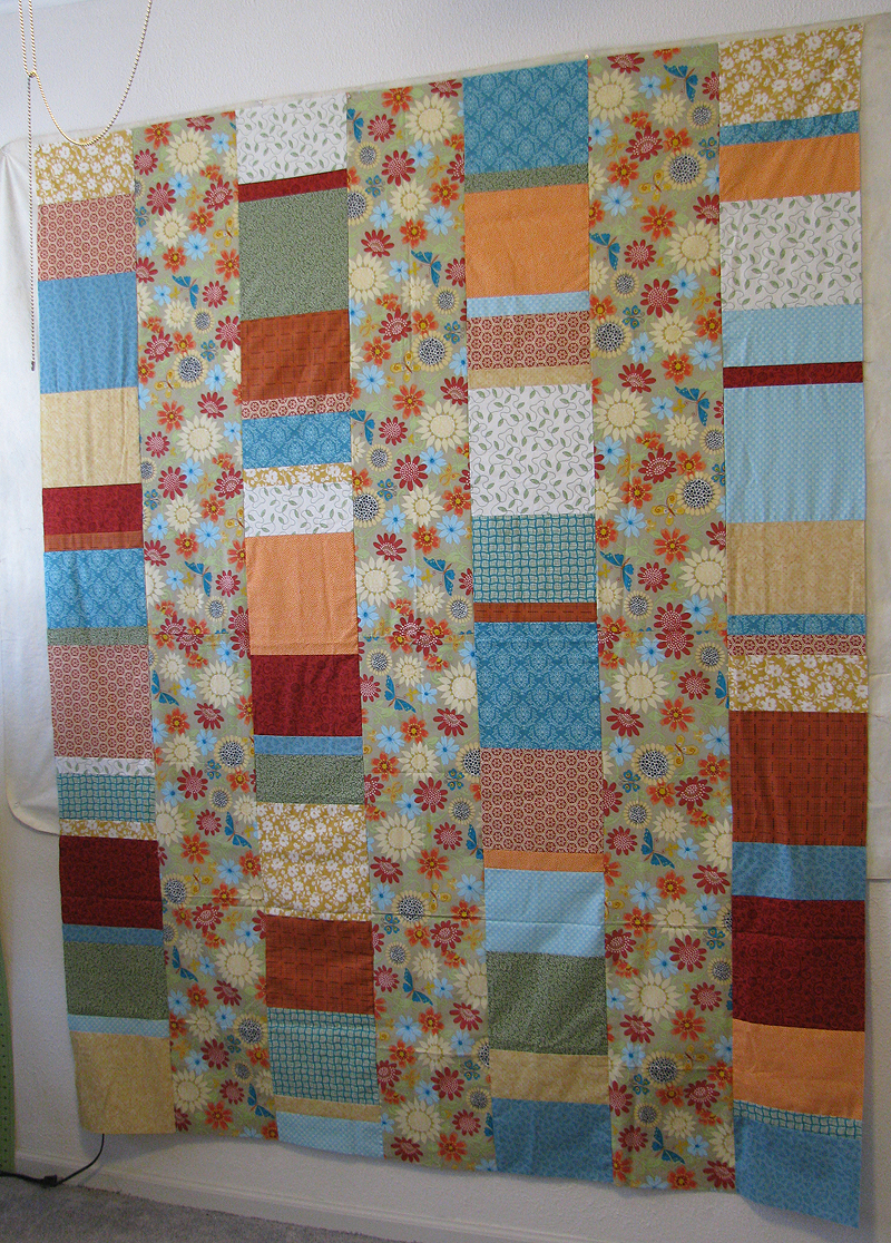 Five and Dime Quilt Pattern by All Washed Up in bright colors ... : five and dime quilt - Adamdwight.com